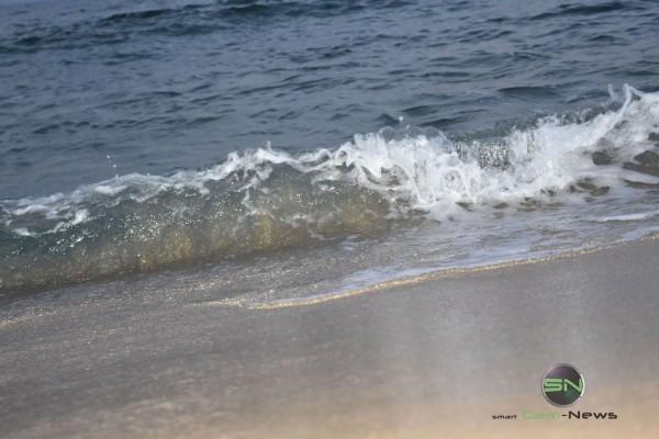 Der Sand in der Welle - Nikon D5500 Barcelona - SmartCamNews