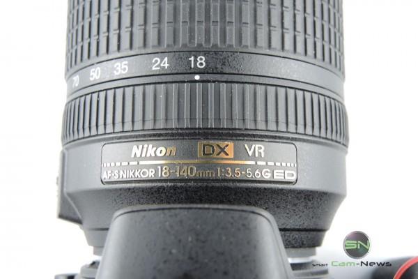 Reisezoom Nikkor 18 140mm Nikon D5500 - SmartCamNews