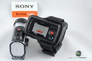 Aufnahme Kontrolle - Sony HDR AZ1 - SmartCamNews