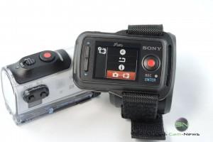 Koppelung Fernbedienung und Sony HDR AZ1 - SmartCamNews