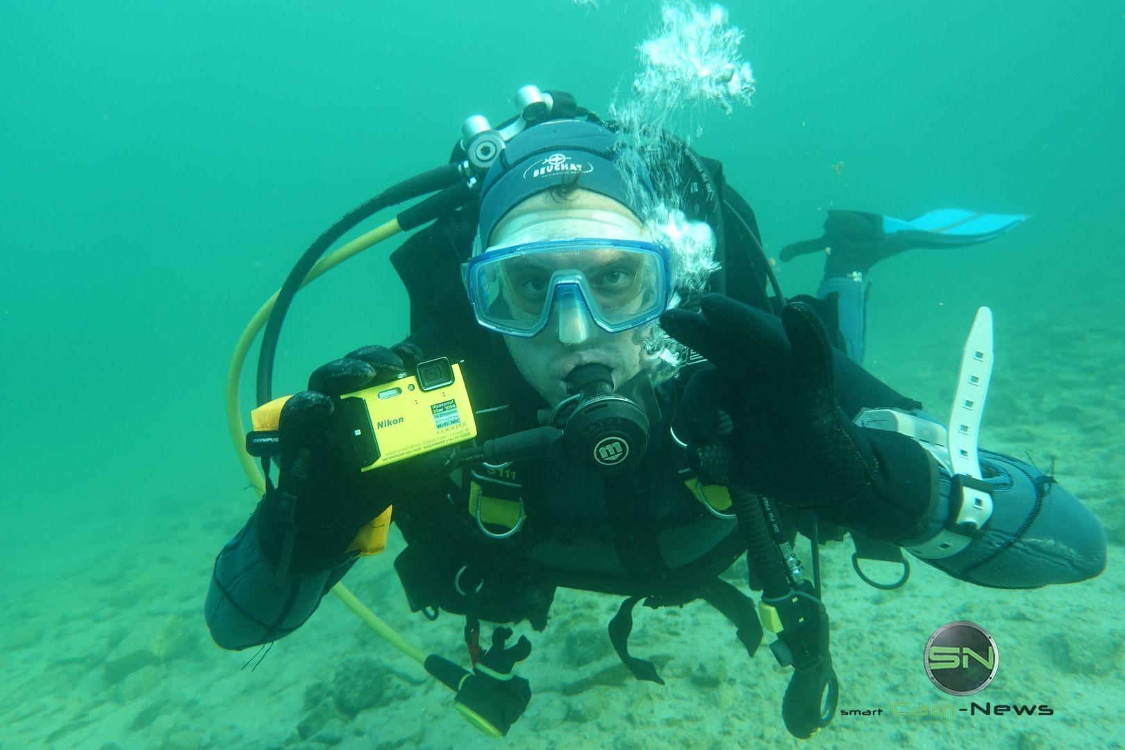 Nikon AW130 Diving Test Achensee Tirol - SmartCamNews