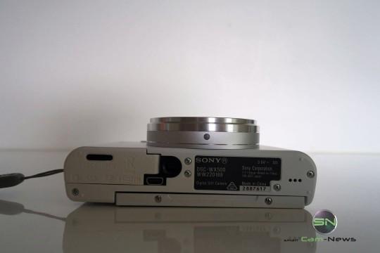 Unterseite- Sony DSC-WX500