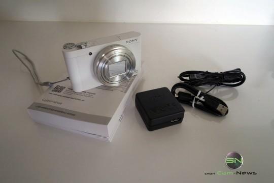 Lieferumfang - Sony DSC-WX500