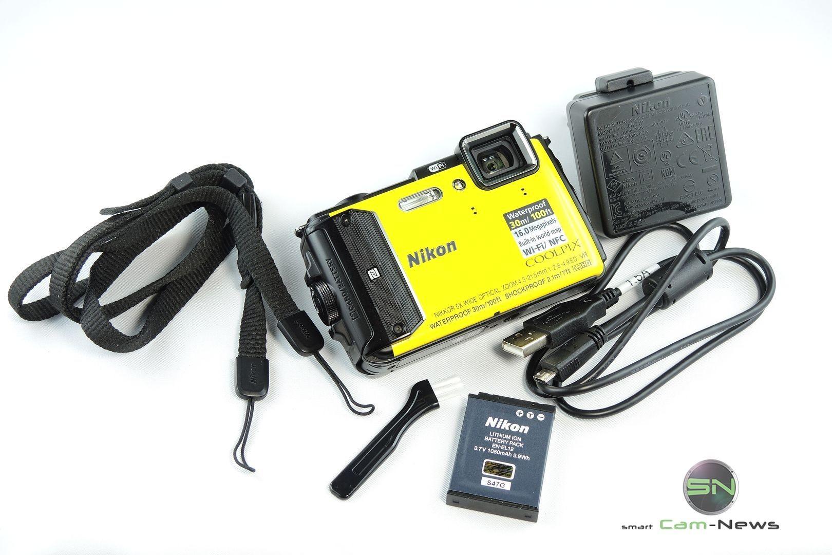 Unboxing Nikon AW130 - SmartCamNews
