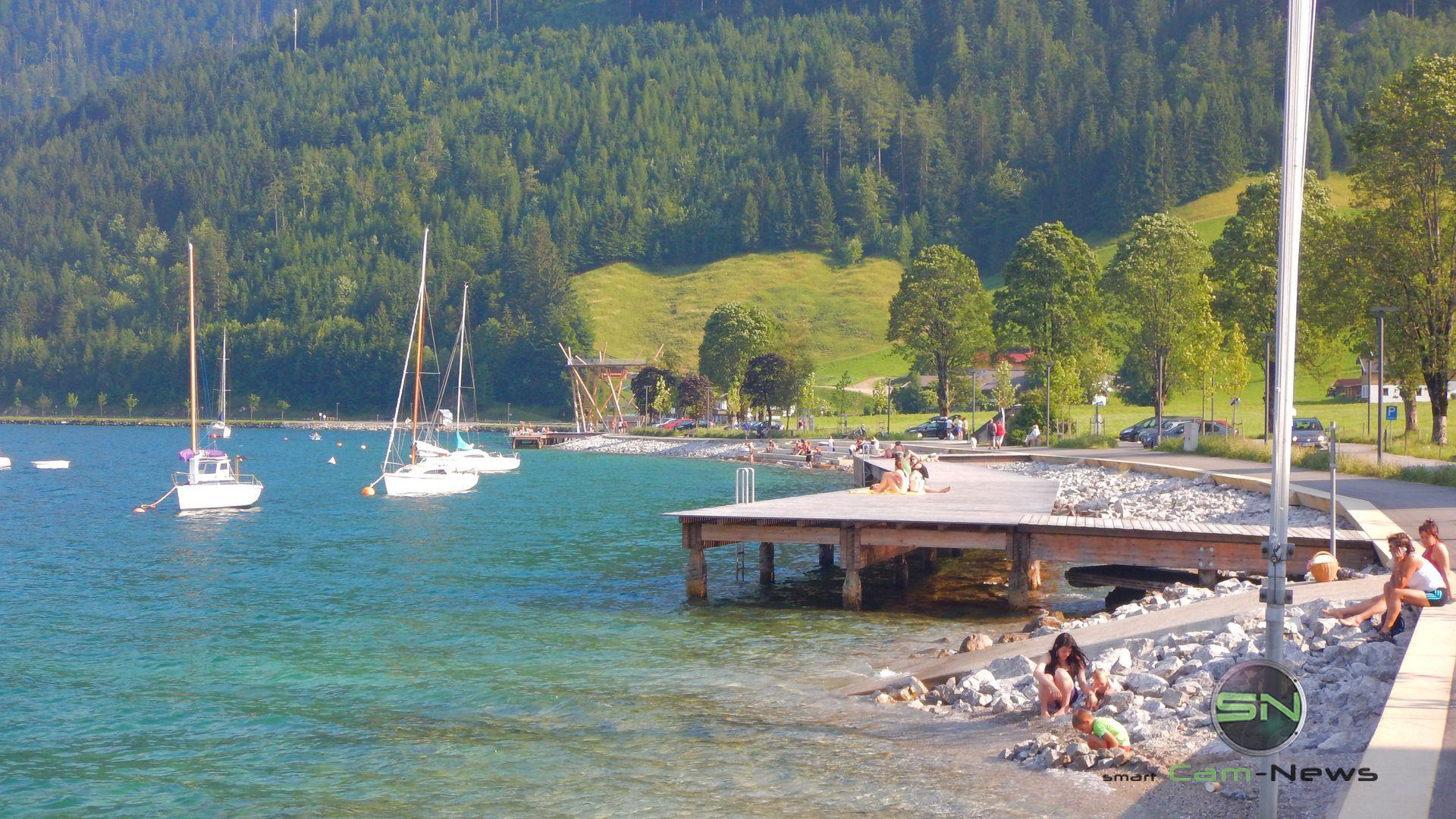 am Steg Achensee Tirol - Nikon AW130 - SmartCamNews