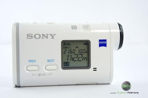 4K Aufnahme - 64GB SD - Sony ActionCam X1000V - SmartCAMNews