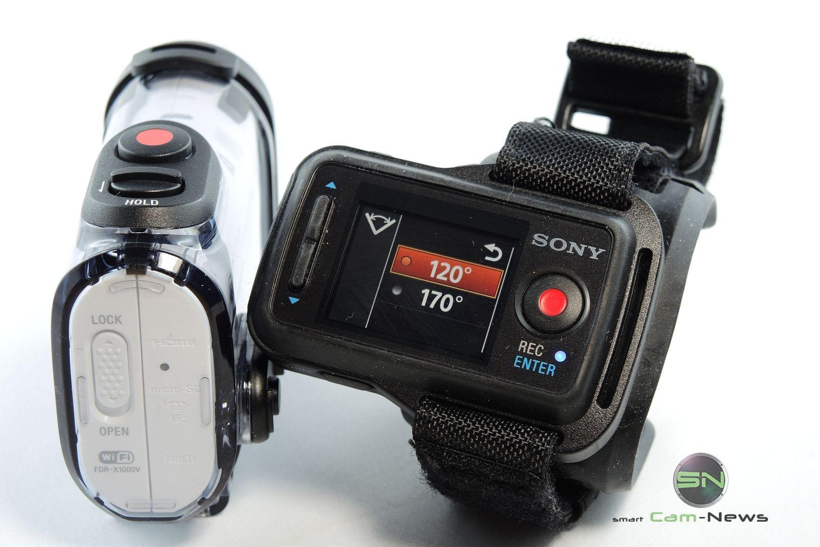 Koppelungsmodus Fernbedienung - ActionCam Sony X1000V - SmartCAMNews