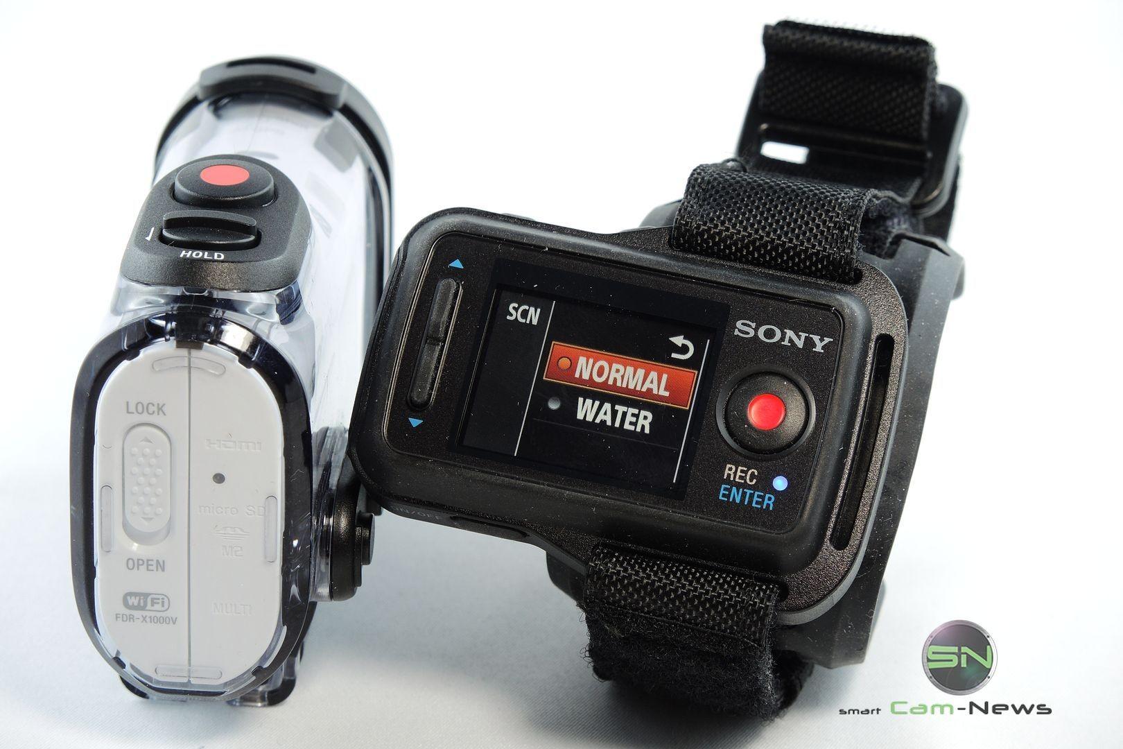 Szenenmodus Fernbedienung - ActionCam Sony X1000V - SmartTechNews