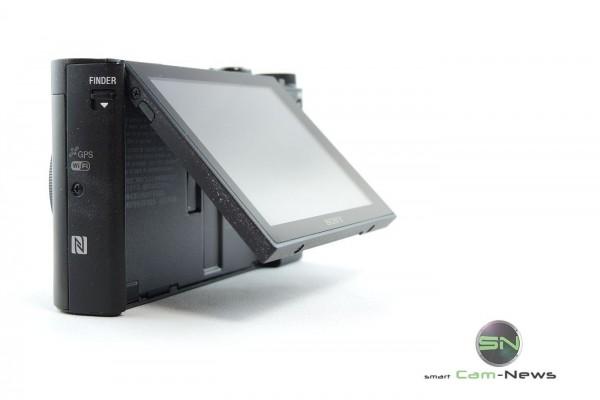 Klappdisplay - Sony HX90V - SmartCamNews