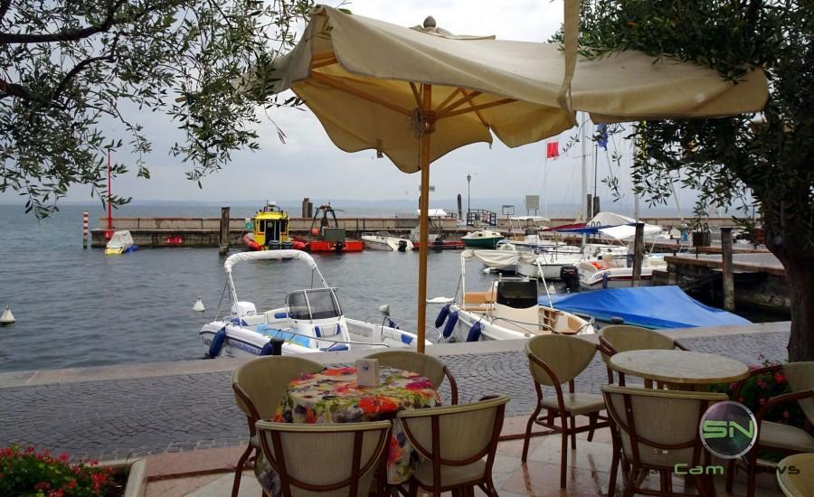 Regentage in Garda - Sony HX90V - SmartCamNews