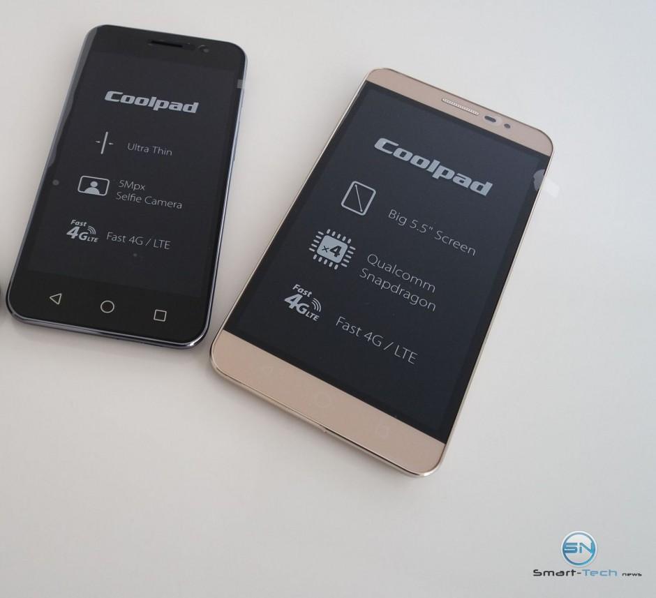 Coolpad Porto und Modena – Smartphone Neuling im Test