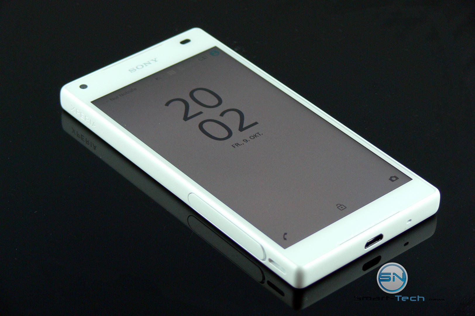 Sony-Xperia-Z5-Compact-Uhrzeit-SmartTechNews
