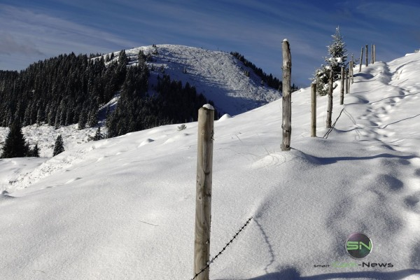 Schneeschuhwandern im Tiefschnee - Sony RX100mIV - SmartCamNews