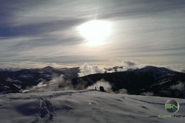 Sonnenaufgang am Berg - Sony RX100mIV - SmartCamNews