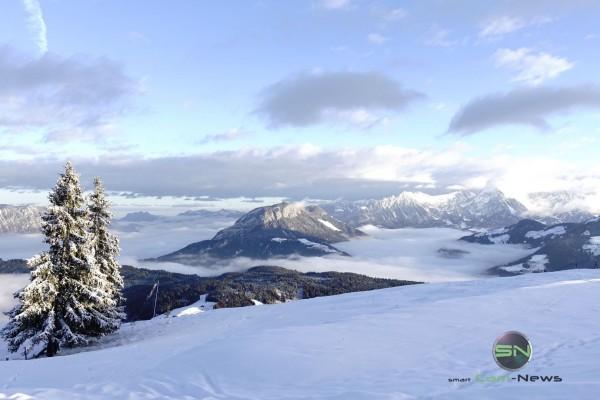 Wildschönau Skitour Winterlandschaft - Sony RX100mIV - SmartCamNews