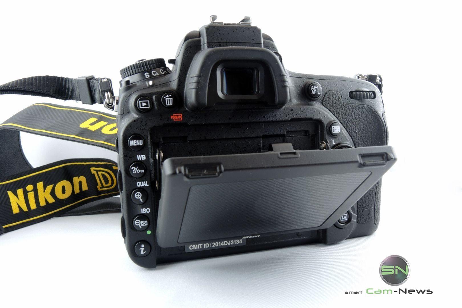 Klappdisplay - Nikon D750 - SmartCamNews