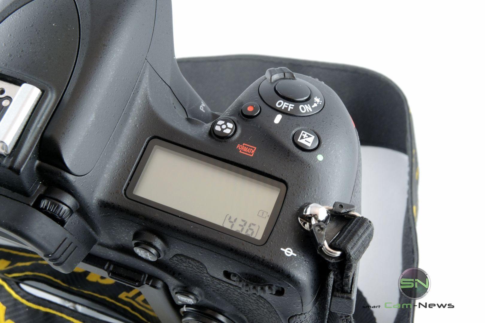 Kontrolldisplay - Nikon D750 - SmartCamNews