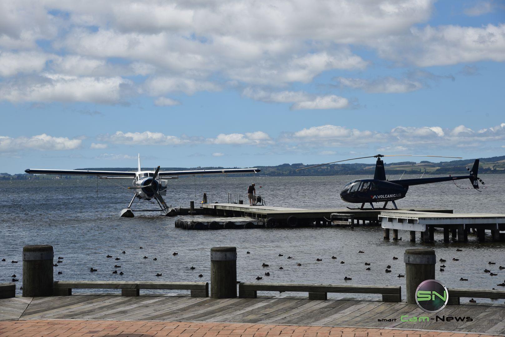 Luft Wasser Taxi - Neuseeland - Nikon D750 - SmartCamNews