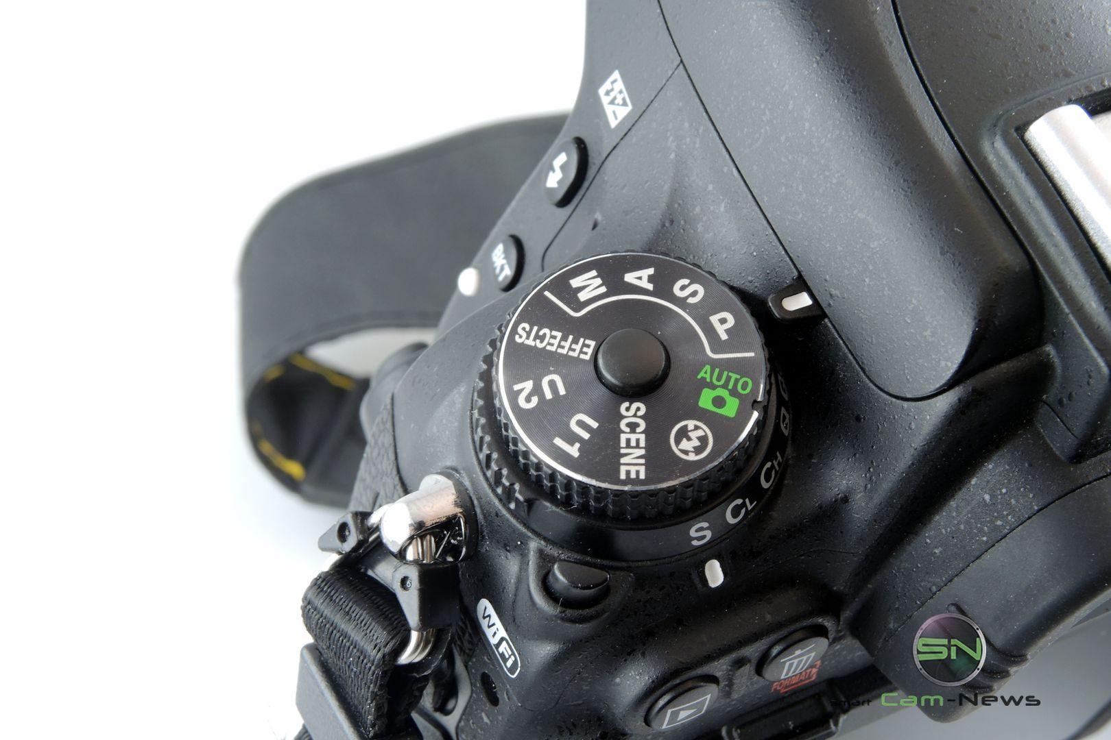 Menü Aufnahmestellrad - Nikon D750 - SmartCamNews