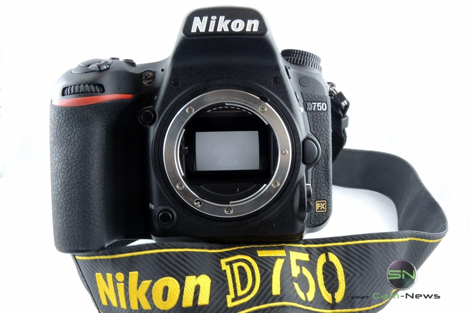 Vollformat FX Sensor - Nikon D750 - SmartCamNews