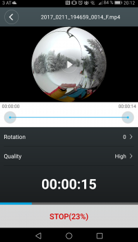 export HiGole360 Aufnahme - SmartCamNews