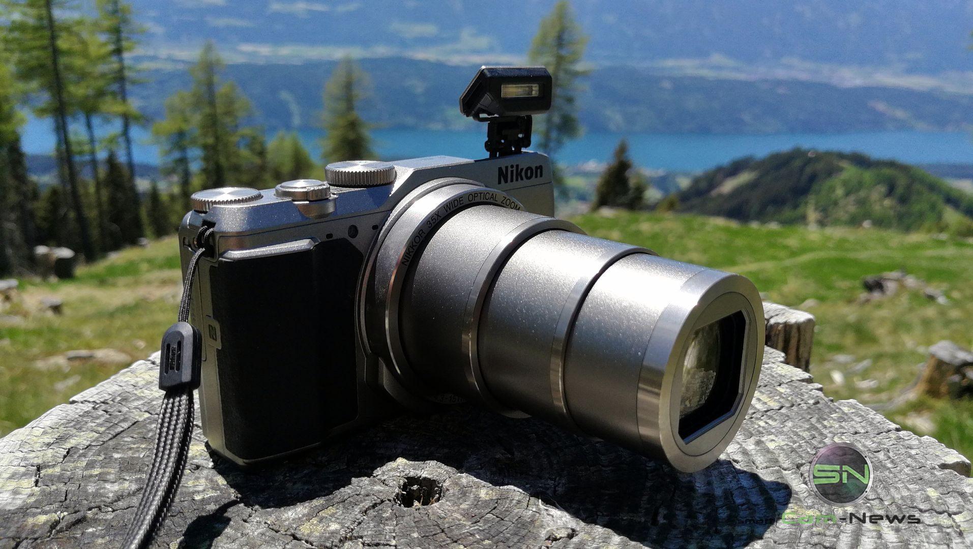 980mm Zoom 35fach - Nikon Coolpix A900 MegaZoom - Millstättersee - SmartCamNews