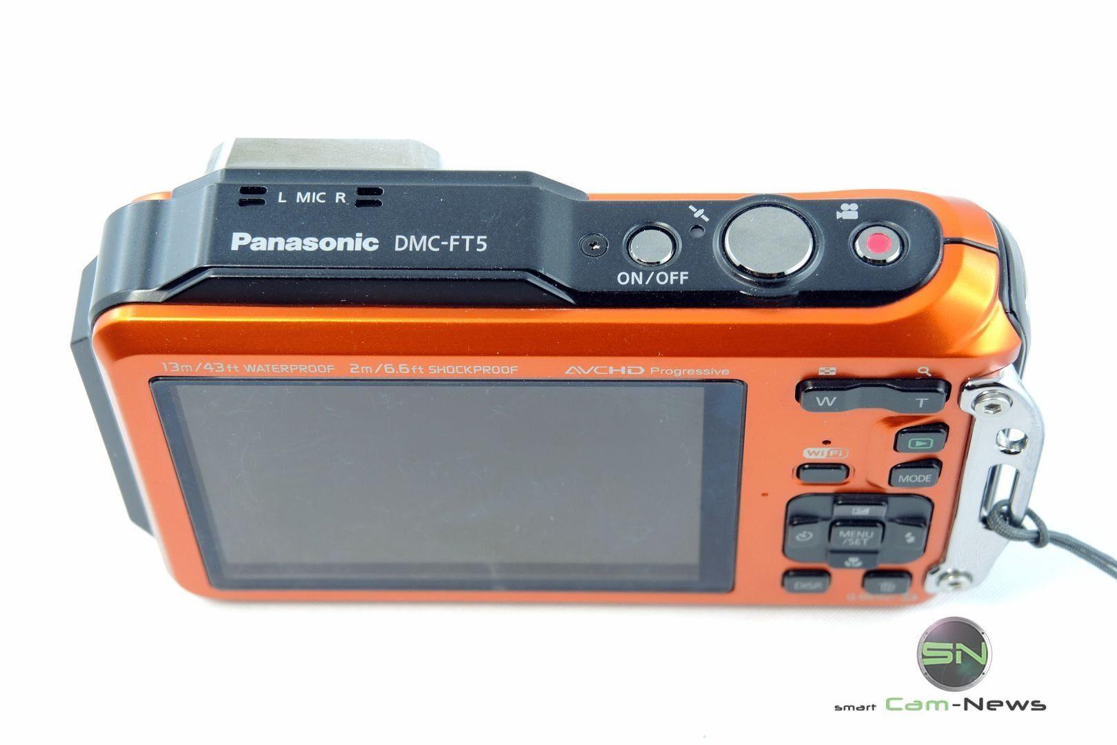 Bedienelemente Panasonic DMC-FT5 - SmartCamNews