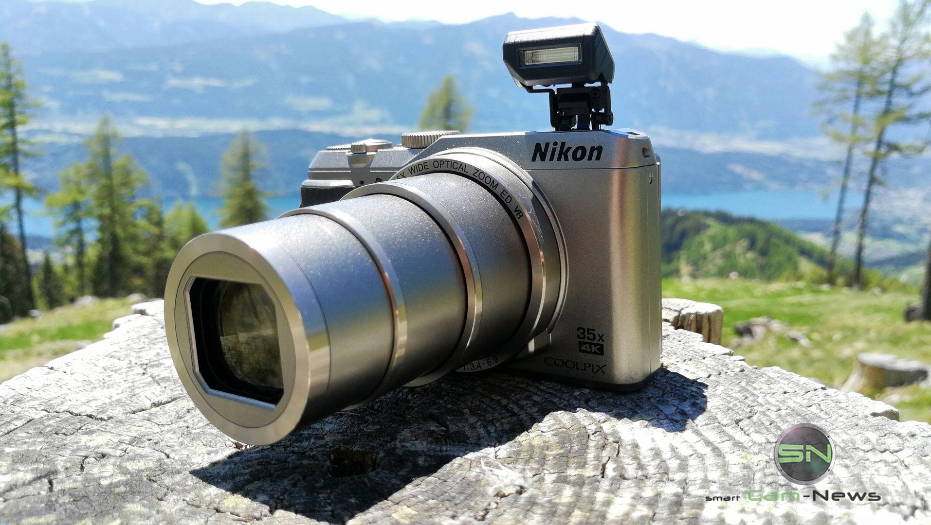 Blitz - Nikon Coolpix A900 MegaZoom - Millstättersee - SmartCamNews