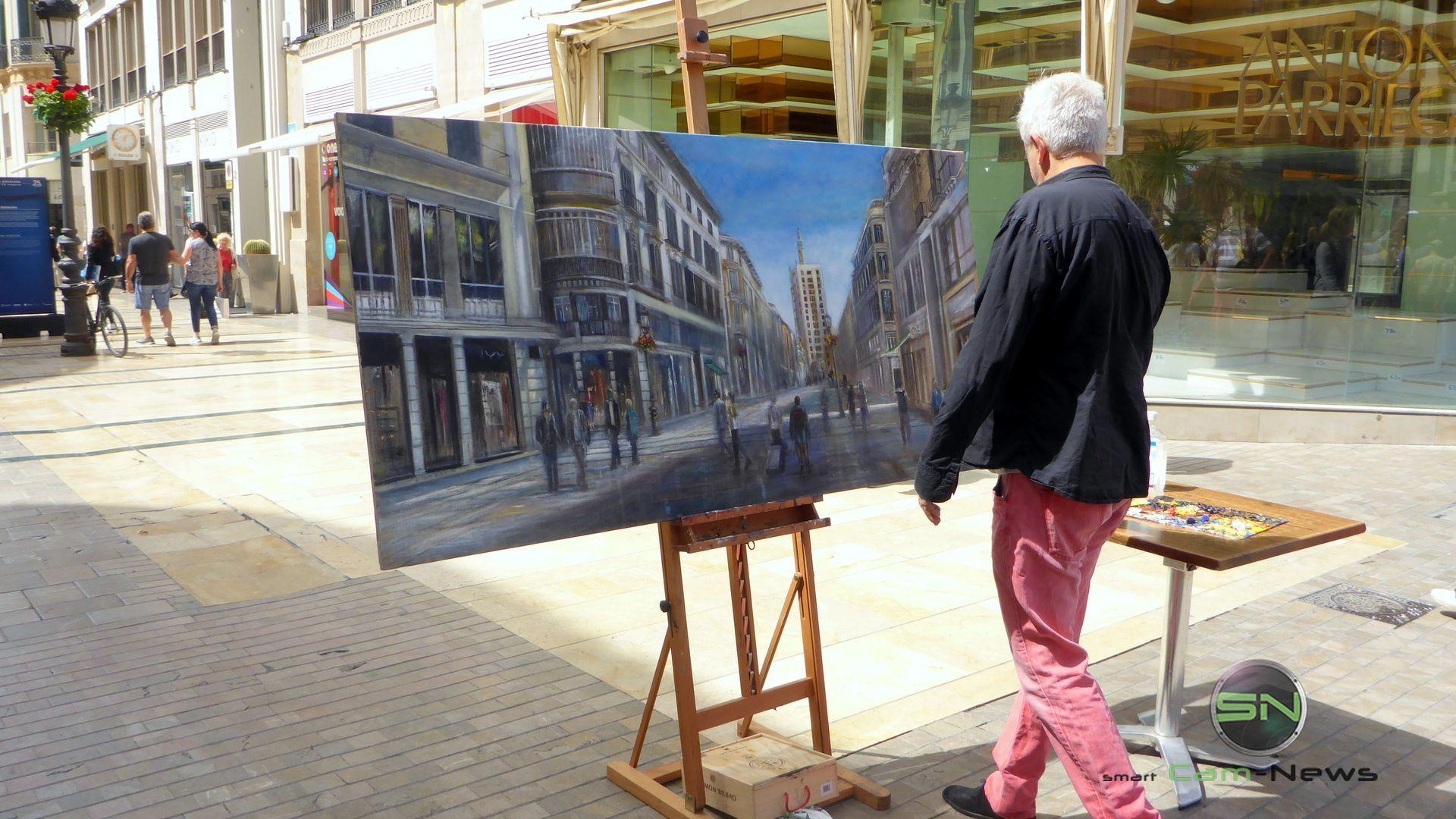 Straßenkünstler Barcelona - Panasonic FT5 - SmartCamNews