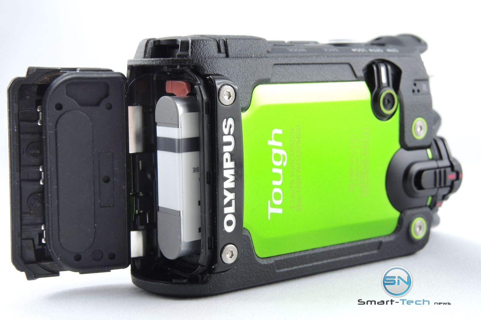 Akku SD Dichtung - Olympus TG Tracker - SmartCamNews