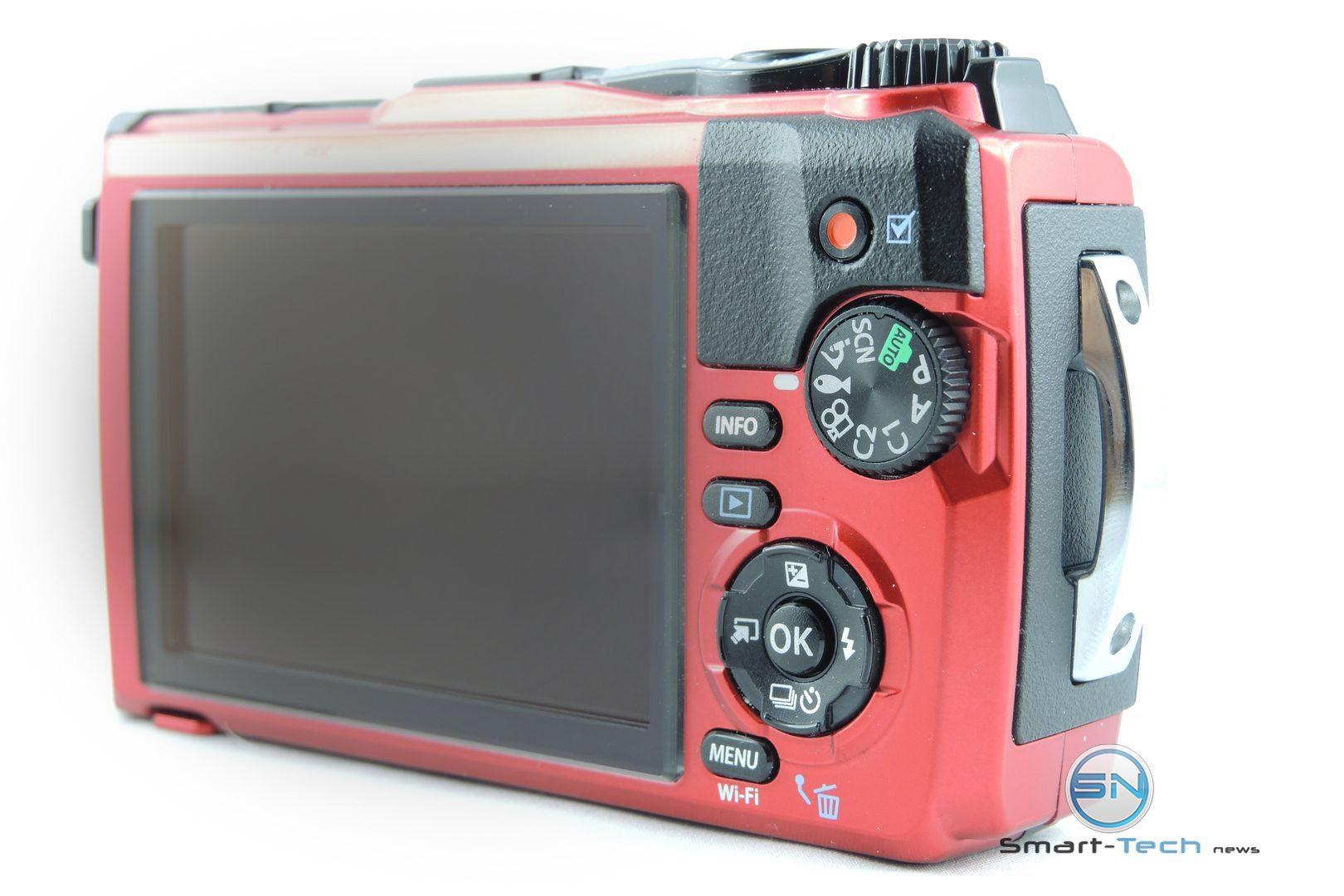 Bedienelemte Olympus TG 5 die Outdoor Kamera - SmartTechNews
