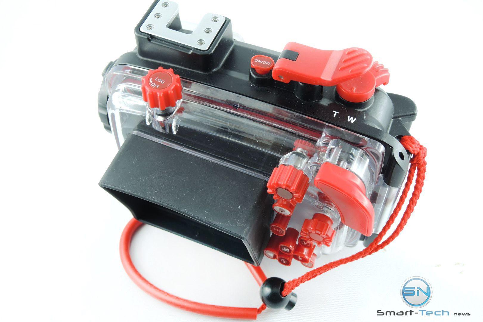 Bedienteile Olympus PT 058 UW Gehäuse - Smart-Tech-News