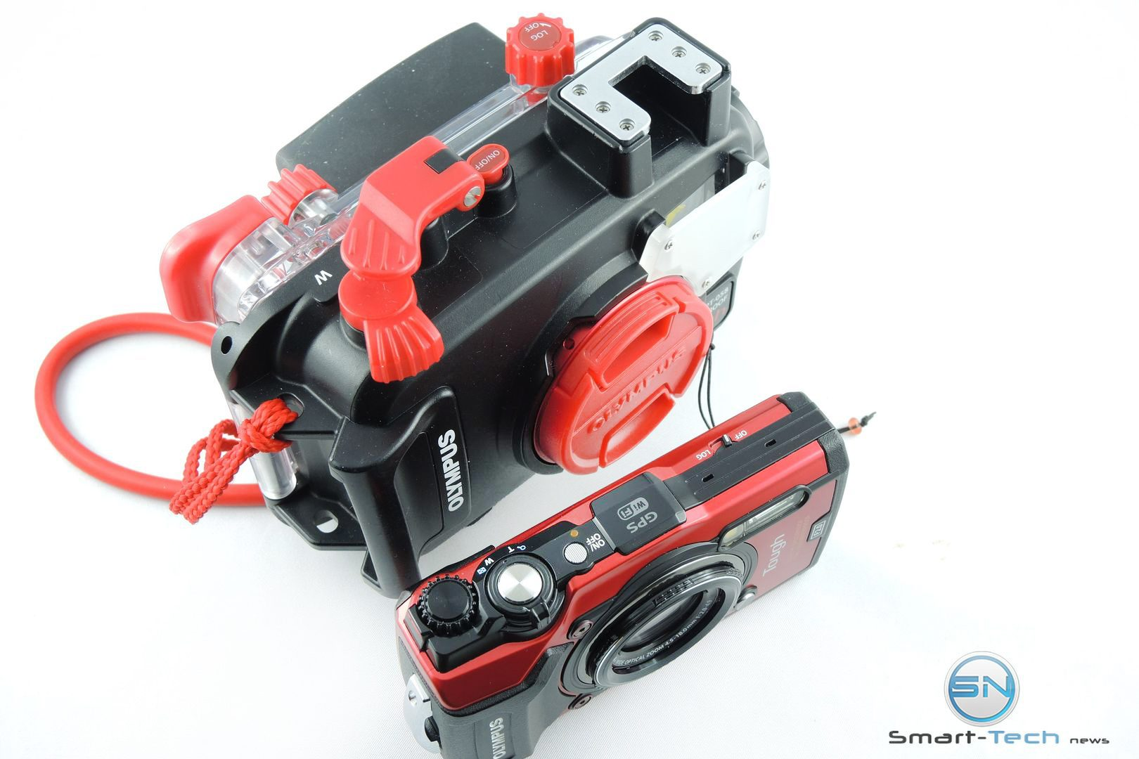 Kamera TG 5 vs Olympus PT 058 UW Gehäuse - Smart-Tech-News