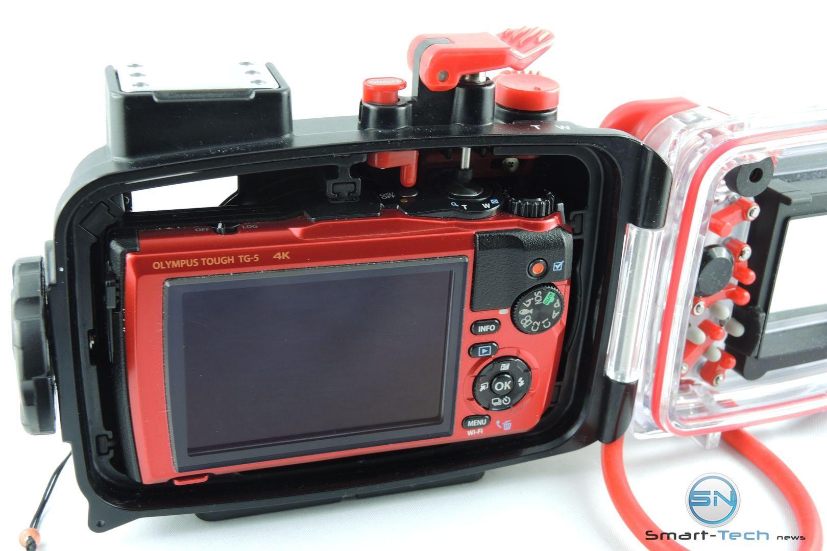 Kamera innen Olympus PT 058 UW Gehäuse - Smart-Tech-News