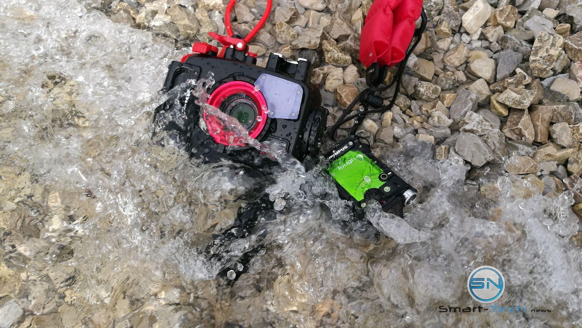 Olympus TG5 mit PT058 und TG Tracker - Achensee - SmartCamNews