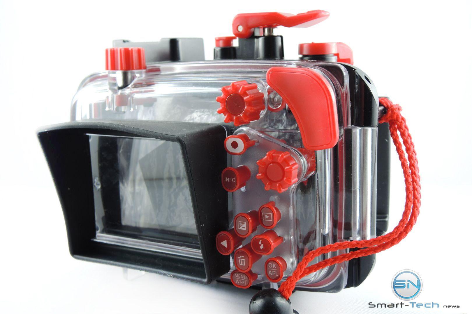 Rückseite Olympus PT 058 UW Gehäuse - Smart-Tech-News