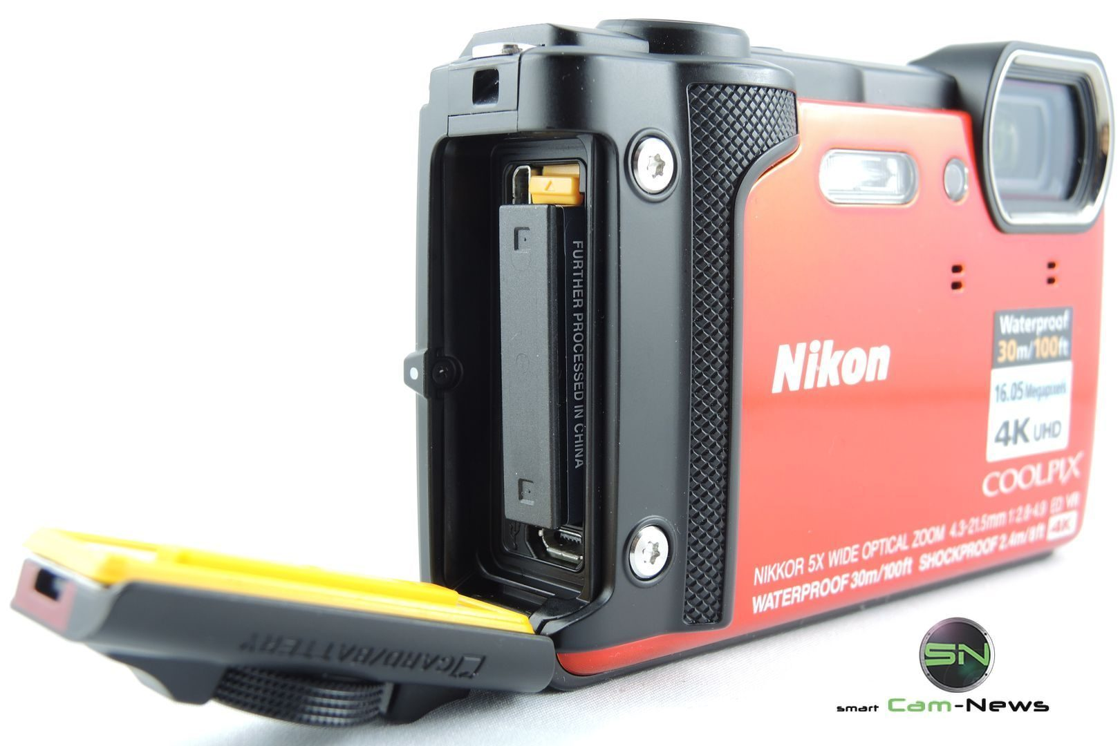 Dichtung SD Akku - Nikon W300 Outdoor Kamera - SmartCamNews